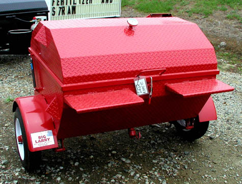 Big Larry Red Cooker